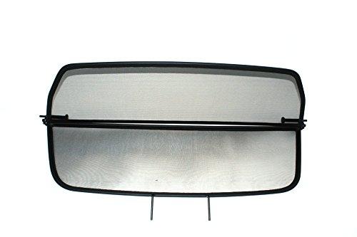 GermanTuningParts Déflecteur de vent pour BMW 6 E64 (2004-2010) - Pliable - avec fermeture rapide - Noir | Filet Anti-Remous Coupe | Déflecteur d'air
