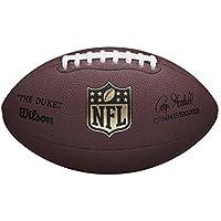 Wilson WTF1825XB Balón de Fútbol Americano, Nfl Duke Replica, Uso Recreativo, Cuero Compuesto, Duradero