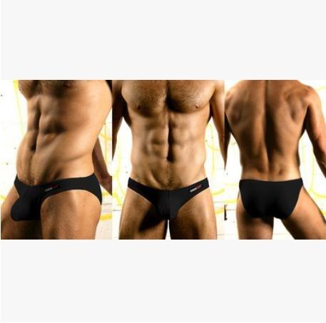 HONGLONG Uomo biancheria intima vita basso tasca slip in cotone pantaloni settimana u cam , 1 , m