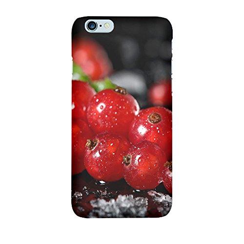 iPhone 6/6S Coque photo - Groseille sur la glace