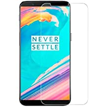 CASE U Crystal Clear Hd Ultra Screen Protector for Oneplus 5T (Pack of 1, Transparent)