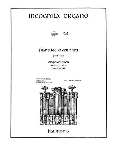 HARMONIA BRIXI F.X. - ORGELWERKEN Klassische Noten Orgel