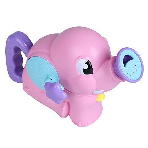 Zerodis Elefant Badewannenspielzeug Baby Bad Dusche Strand Schwimmbad Spielzeug Wasserspielzeug für Kinderkind(Rosa)