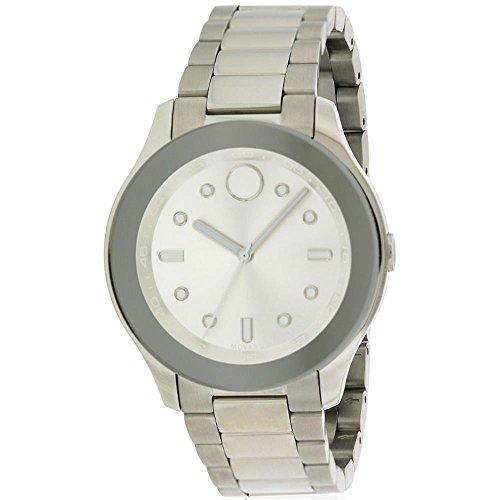 MOVADO Women's Steel Bracelet & CASE Swiss Quartz Analog Watch 3600415