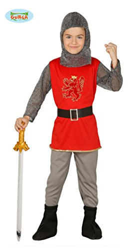(Guirca Ritter Kostüm für Kinder Gr. 98-146, Größe:98/104)