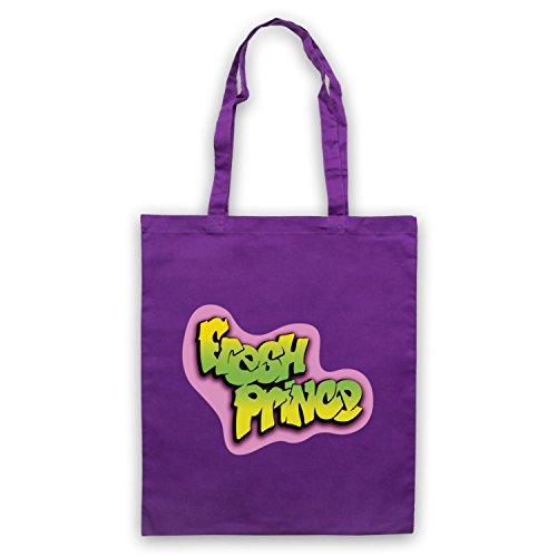 Ispirato Al Principe Fresco Di Bel Air Logo Viola Non Ufficiale