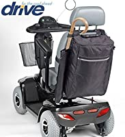 Drive Medical Crutch & Walking Stick Bag For Mobility Scooter (Black)