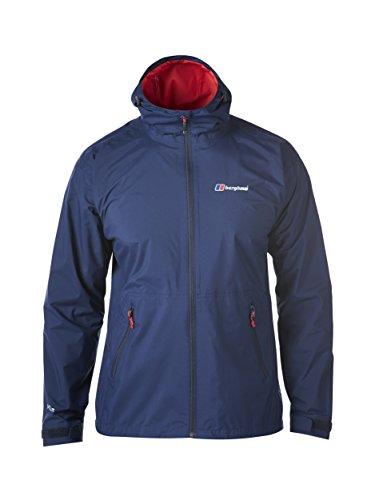Berghaus Mens Stormcloud Waterproof Jacket - Blue (Dusk), Medium