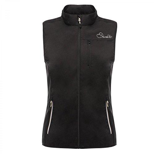 Dare2b Womens/Ladies Utilize Waterproof Breathable Gilet Bodywarmer Black