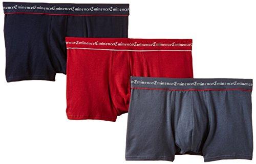 Selection, Culotte para Hombre, Multicolore (Flanelle/Rouge/Marine 1860), XXX-Large(Pack de 3) Eminence