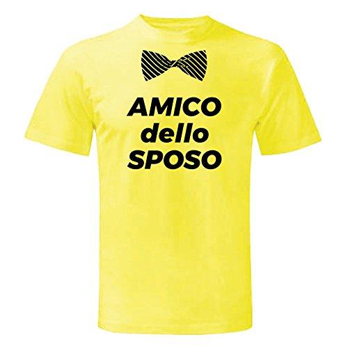 Art T-shirt Herren T-Shirt Gelb