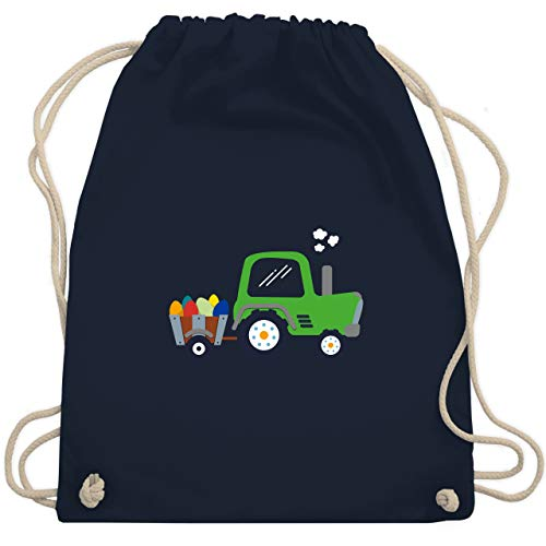 tereier-Traktor - Unisize - Navy Blau - WM110 - Turnbeutel & Gym Bag ()
