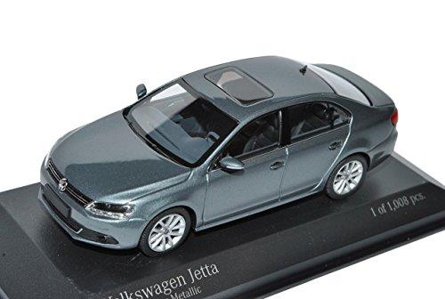 vw-volkswagen-jetta-vi-limousine-grau-ab-2010-1-43-minichamps-modell-auto-mit-individiuellem-wunschk