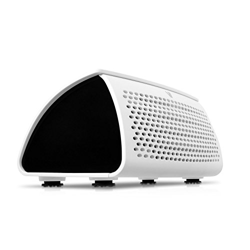 V7 SP6000-BT-WHT-18EC - Altavoz portátil de 2.5 W (NFC, Bluetooth, 3.5mm), blanco