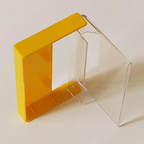 cassetta-scatole-mc-cassetta-motivo-norelco-alta-trasparente-arancione-giallo