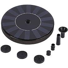 Bomba Flotante Solar de Fuente para Jardín Estanque Fuentes Cascadas Energía Solar Bomba para Fuente