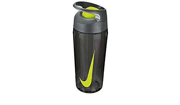 152f737786b7d Nike TR Hypercharge Rocker Bottle Trinkflasche 473ml (anthracite volt)   Amazon.de  Sport   Freizeit