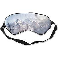 Eye Mask Eyeshade Mountains Snowflake Sleeping Mask Blindfold Eyepatch Adjustable Head Strap preisvergleich bei billige-tabletten.eu