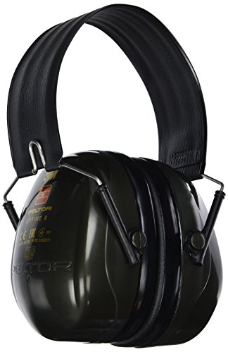 Casque antibruit 3MTM PELTORTM OptimeTM II H520F-410-GB - Vert - Serre tête pliable
