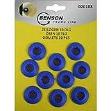 Benson Tools 00188 Ösen aus Kunststoff 10tlg für Planen Schutzhüllen Zelte