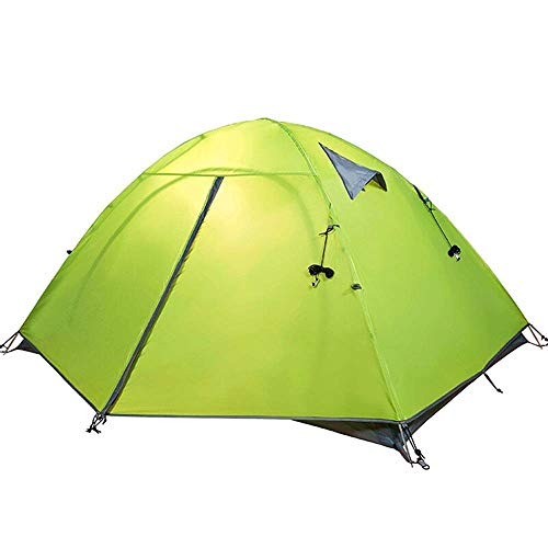 LJMYP Camping Zelte Rucksackzelt Camping Ausrüstung Zelt für Schlafsack Camping Kuppelzelt für Campingzelt Outdoor Canopy Dining Pavillon, Outdoor Double-Layer Wind- und Regenschutz Speed   Open Zelt