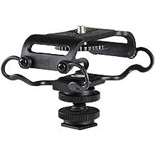 Goliton® Choque Micrófono Shockmount sostenedor del montaje de zoom H4n / H5 / H6 Sony Tascam DR-40 / DR-05 Grabadores