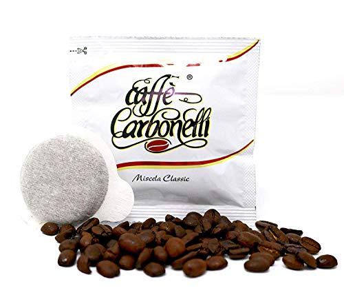 150 Cápsulas café Caffè Carbonelli Classic - equilibrado sabor. Ese 44 mm ...