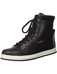 Twin Set Ca7tdw, Sneaker a Collo Alto Donna