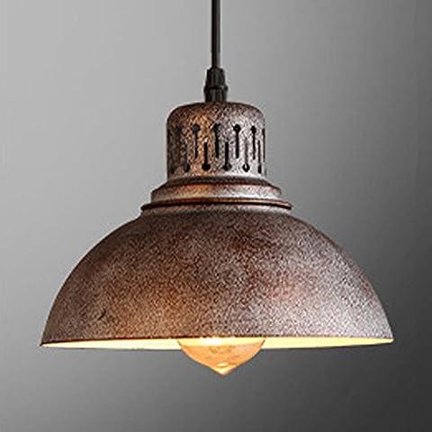 Industrielle Deckenleuchte, SUN RUN Kreative Retro Leuchte Kronleuchter Vintage Metall Pendelleuchte mit lackiertem Finish für Esszimmer Küche