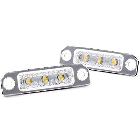 Phil Trade Éclairage de plaque minéralogique à LED pour Ford Mercury Lincoln avec homologation