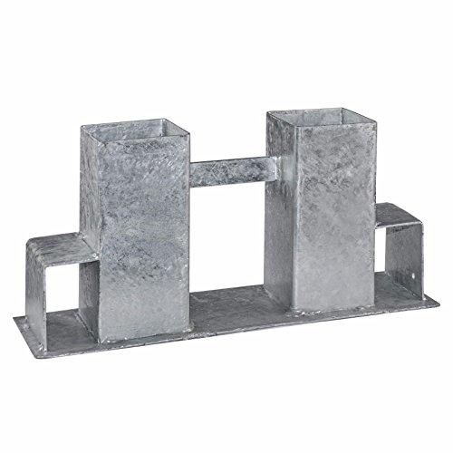 *2/4x Brennholz Stapelhilfe Regal Kaminholz Kaminholzablage Holzstapelhalte (4 Stück)*