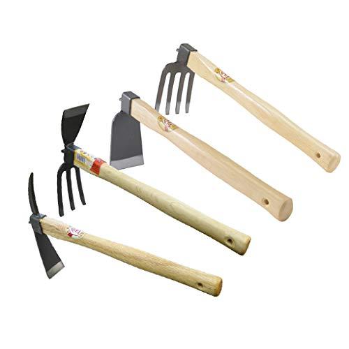 Mingteng Juego de Cuatro Piezas de Acero Inoxidable para jardinería, Juego de Herramientas de jardín, Regalos de jardinería, artículos de jardinería Juego de Regalo