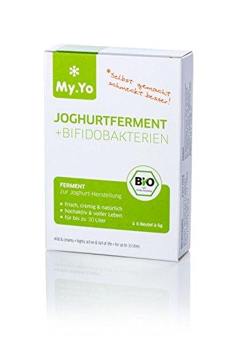 Bio-Joghurtferment + Bifidobakterien von My.Yo, 6 Beutel -