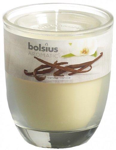 6 x BOLSIUS Duftglas medium, Vanille