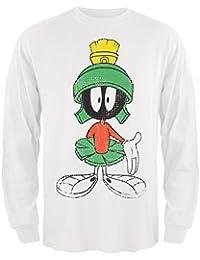 Looney Tunes Herren T-Shirt Weiß Weiß