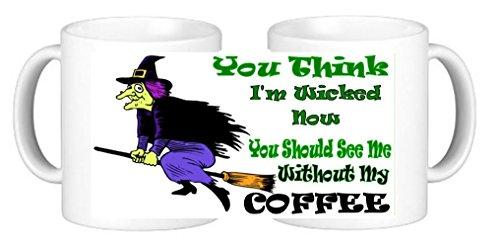 d Now. sollten Sie Siehe Me ohne My Kaffee Neuheit Keramik Kaffee Tasse haben, IT Your Way Plus Untersetzer ()