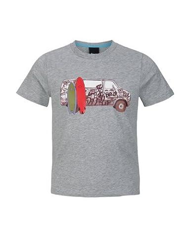 Bench Jungen Sport Pullover T-shirt Surf Wagon grau (grey marl) 164