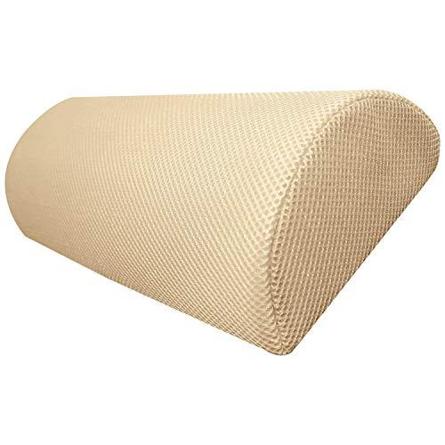 Top Home Solutions-Cojín de espuma de memoria de media luna para usar en cuello, espalda baja...