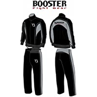 Booster PRO Tracksuit / chándal negro/gris, Talla:L