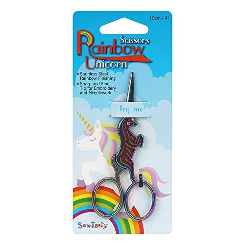 Einhorn Regenbogen Schere Stickschere