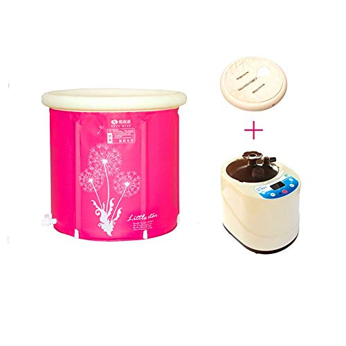 Bañera plegable hinchables jacuzzi hinchable spa jacuzzi portatil plástico Caja de sauna...