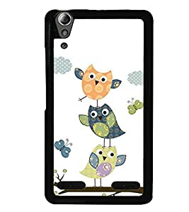 printtech Colorful Birds Back Case Cover for Huawei Honor 6x