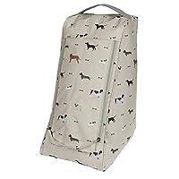 Sophie Allport Oilcloth Boot Bag - Woof design