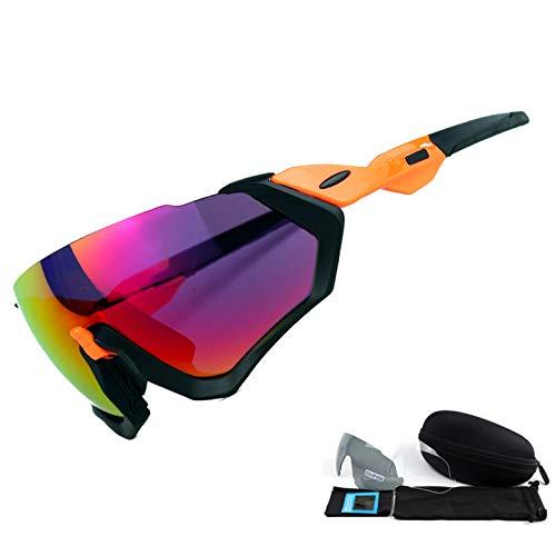 Mjia sunglasses Sportbrillen,Polarisierte Sonnenbrille-im Freiensport-windundurchlässiger...