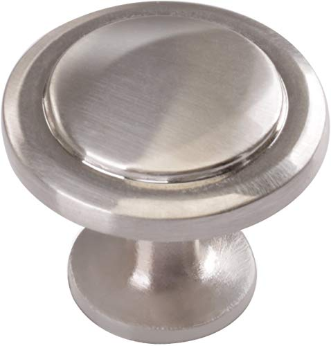 Cabinet Hardware Round Knob - Si...