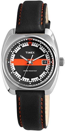 Timex Herrenuhr mit Echtlederarmband
