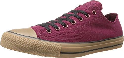 Converse Chuck Taylor All Star Canvas OX Schuhe, EUR: 44.5, Oxheart/Gum (Oxheart Converse)