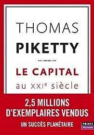Le capital au XXIe siècle par Thomas Piketty