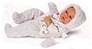 Antonio Juan Spielpuppe Babypuppe Puppe 42 cm Geschlecht: Mädchen