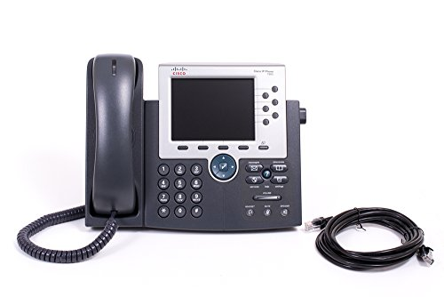 CP-7965G Cisco IP-Phone 7965G 2 Piece Phone ( Hands Free Functionality, System Phone, ... (Certified Refurbished)